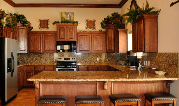 Homes For Sale in the Rio Grande Valley - Bentsen Palm Home Kitchen